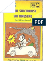 Eduardo del Río, Rius =Como Suicidarse Sin Maestro = rius