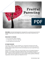 Fruitful Parenting Seminar-Participant