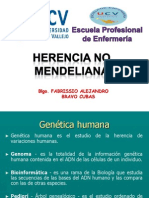 Herencia No Mendeliana