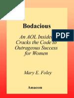 AMACOM 2002 - Bodacious