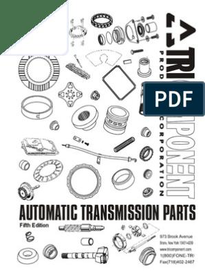 Automatic Transmission Catalog | Clutch | Transmission