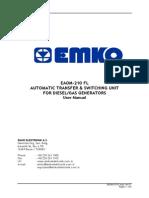 Emco Eaom 210 ATS Gen. set module Fl