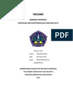 Resume Inteksan