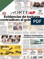 Periódico Norte de Ciudad Juarez 17 de Noviembre de 2013