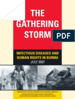 The Gathering Storm- Infectious Diseases and Human Rights in Burma