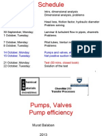 Pumps and Valves