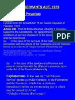 Civ1l Servants Act-1973