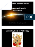 AIAC Day5 Webinar - Astronomy of Special Ascendants