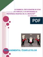 management conflicte