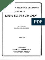 Ihya Ulum Al Din Vol 2