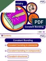 covalent bonding