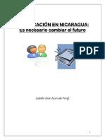 El Futuro de La Educacion en Nicaragua