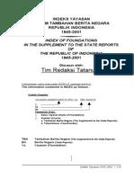 Indeks Yayasan