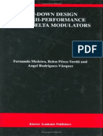 Top-Down Design of High-Performance Sigma-Delta Modulators