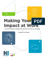 Making Your Impact at Work - A Practical Guide to Changing the World from Inside Any Company + In-Depth Case Studies
