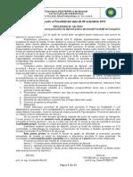 Procedura Elaborare Proiect de Diploma 10 Octombrie 2012