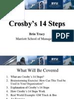Crosby's 14 Steps
