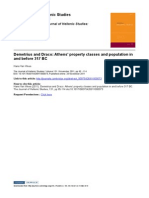 Athens' Property Classes and Population
