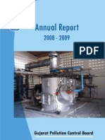Gujarat Pollution Control Board Annual Report 09