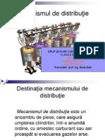 Mecanismul de Distributie