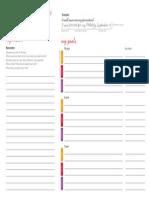 Vision and Goals Worksheet