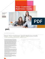 Pwc Kyc Anti Money Laundering Guide 2013