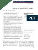 fMRI u BAP Meta Analiza