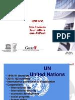 Unesco 5 Themes 4 Pillars Aspnet