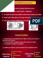 PPT- Calibres de límites 2013