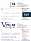 John Vespa for Judge Volunteer cards