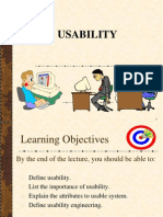 Usability to Human-Computer Interaction