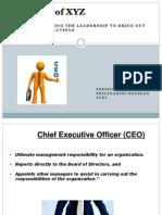 CEO case