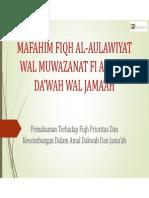 MAFAHIM FIQH AL-AWLAWIYAT WAL MUWAZANAT FI AMALID DA'WAH.pdf