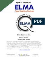 US 13 Quality Manual QA