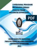 SOP Kesekretariatan BEM FT 2013