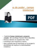 Campo Intelectual y Proyecto Creador