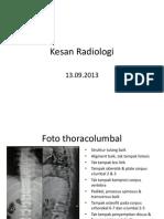 Kesan Radiologi - 13.09.2013