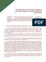Dai Documenti Dei Sacerdoti Romani - Dinamiche Dell'Universalismo Nella Religione E Nel Diritto Pubblico Di Roma Antica