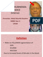 JAUNDICE Internal Medicine Presentation