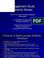 Management Acute Stroke