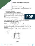 Determinarea Caldurii Specifice a Unui Corp Solid