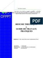 Organisation Administrative