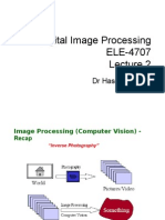 Image processing LECTURE 2-A