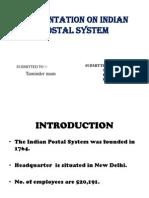presentationonindianpostalsystem-