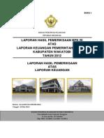 LHP LKPD Wakatobi TA 2012 (Buku I)