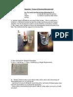 unit 3 chemistry