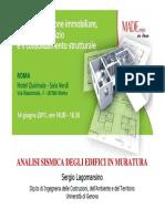 Analisi Sismica Degli Edfici in Muratura_Lagomarsino