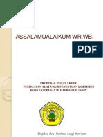 Presentasi Tugas Akhir Rahmat