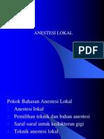Anestesi Lokal (1)