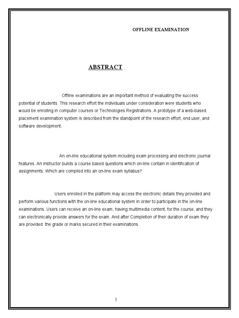 Online examination full report microsoft sql server databases ccuart Gallery
